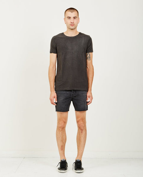 KSUBI FADED TEE BACK TO BLACK