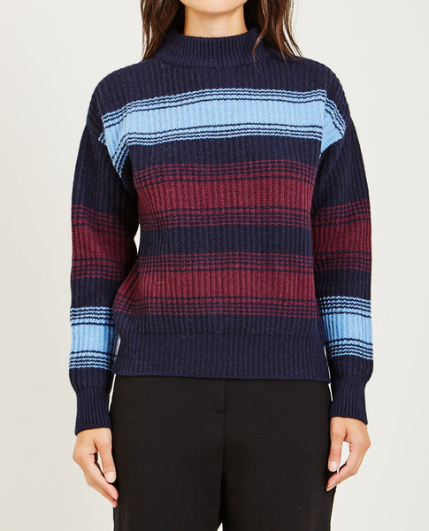 WOOD WOOD FELICE STRIPE SWEATER