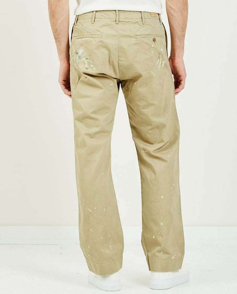 RRL-Field Chino Khaki-Men Pants-{option1]