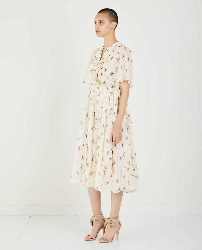 FLORAL PRINTED DRESS-MASSCOB-American Rag Cie
