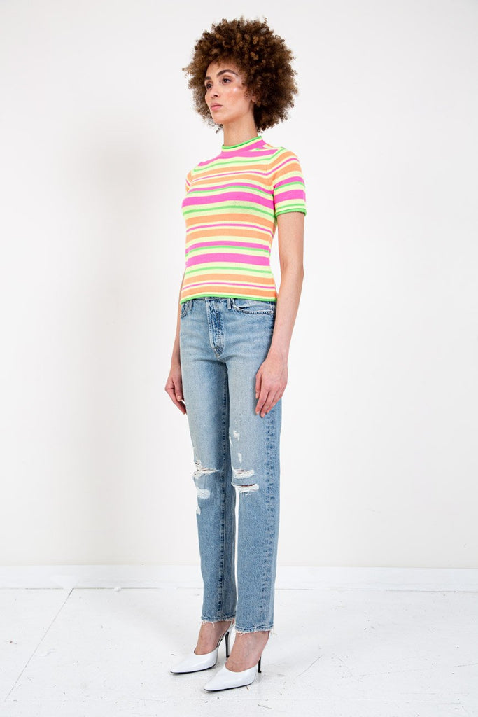 FLUORESCENT KNIT TOP-OPENING CEREMONY-American Rag Cie