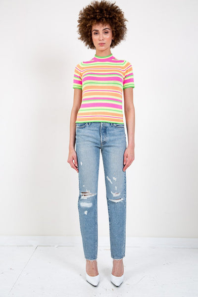 OPENING CEREMONY FLUORESCENT KNIT TOP