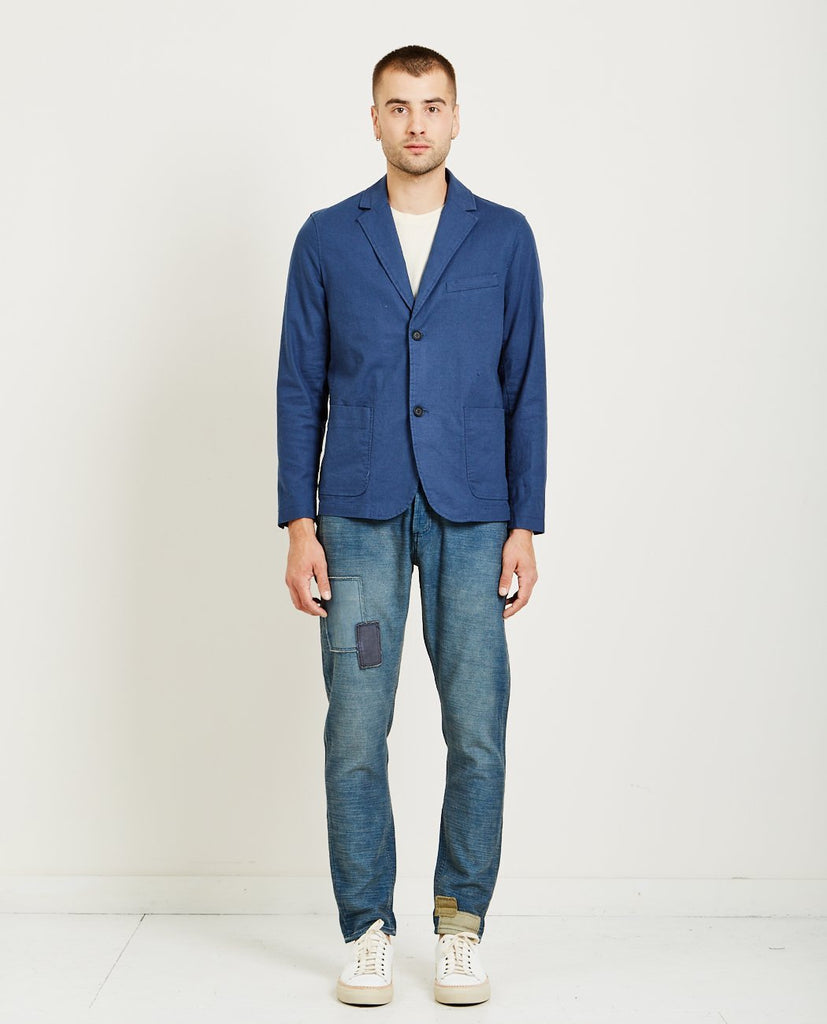 DENHAM-FORM TYPE G BLAZER-Men Coats + Jackets-{option1]