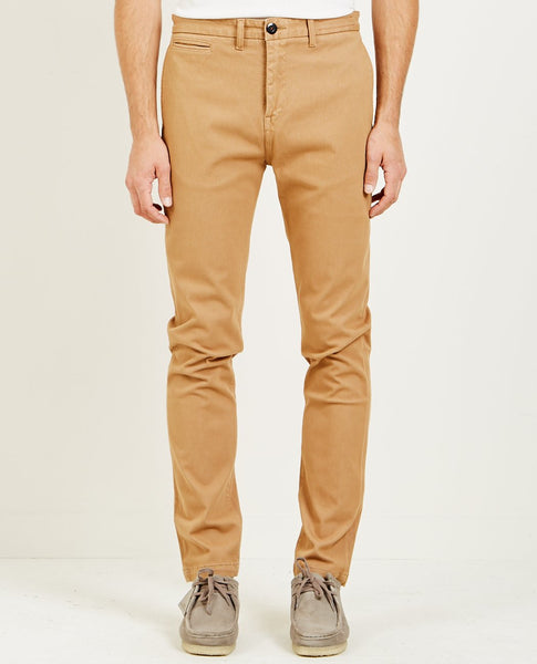 KATO FRENCH TERRY SLIM CHINO KHAKI