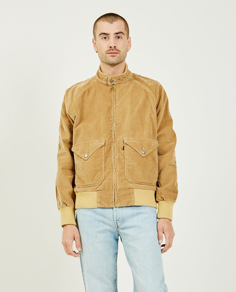 LEVI'S VINTAGE CLOTHING-Fresh Produce Bomber Apricot-Men Coats + Jackets-{option1]