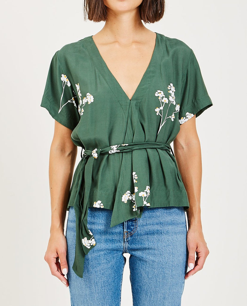 RUE STIIC-FRONTIER WRAP TOP BLOSSOM-Blouses-{option1]