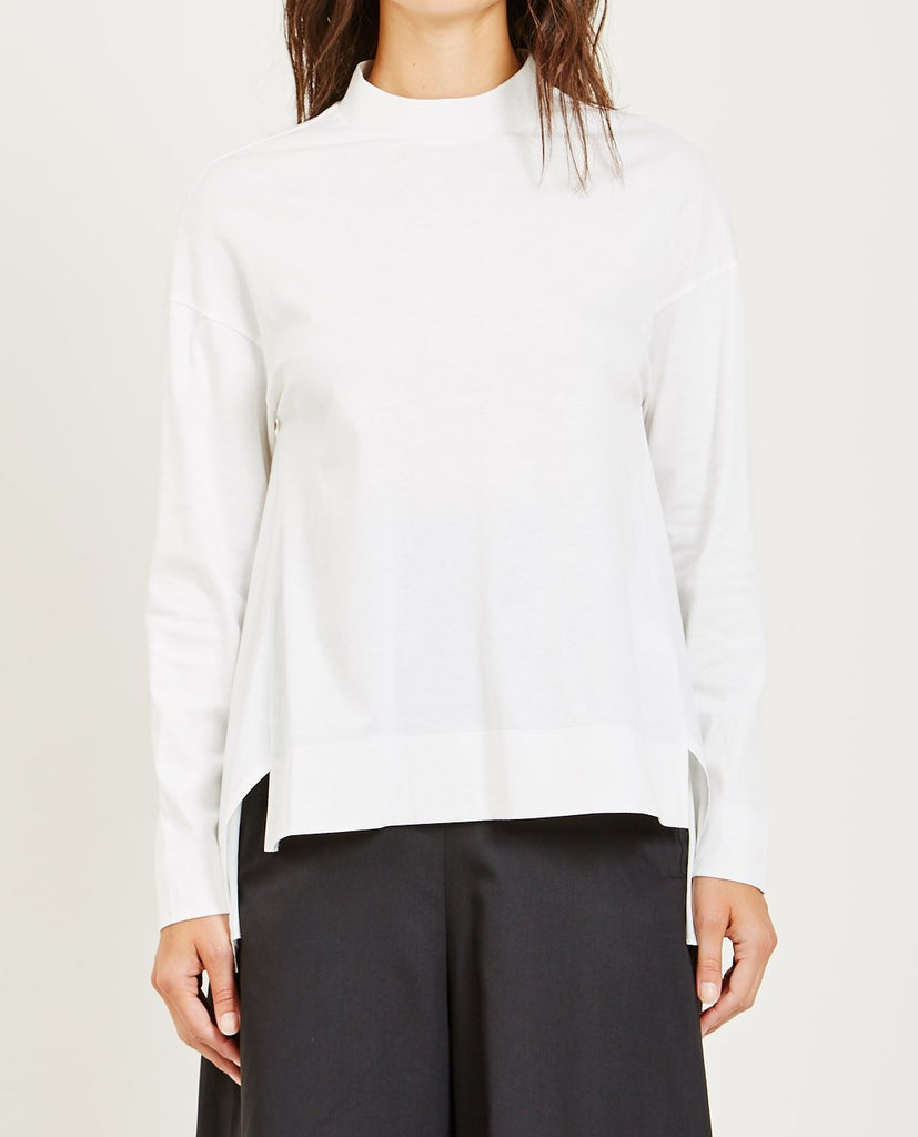FUNNEL NECK BLOUSE-DEMOO PARKCHOONMOO-American Rag Cie