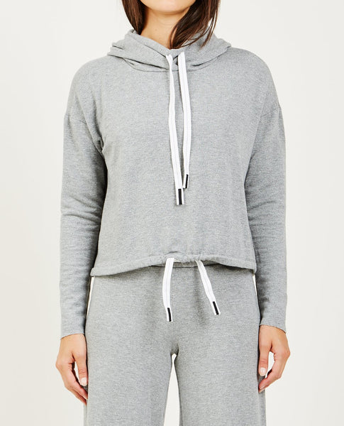 STATESIDE FUNNEL NECK FLEECE HOODIE