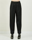 WNDERKAMMER-GABARDINE SPAN TROUSER-Women Pants-{option1]