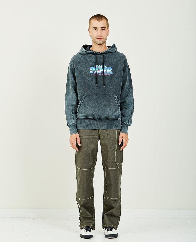 DAILY PAPER-GALBACID HOODIE-Men Sweaters + Sweatshirts-{option1]