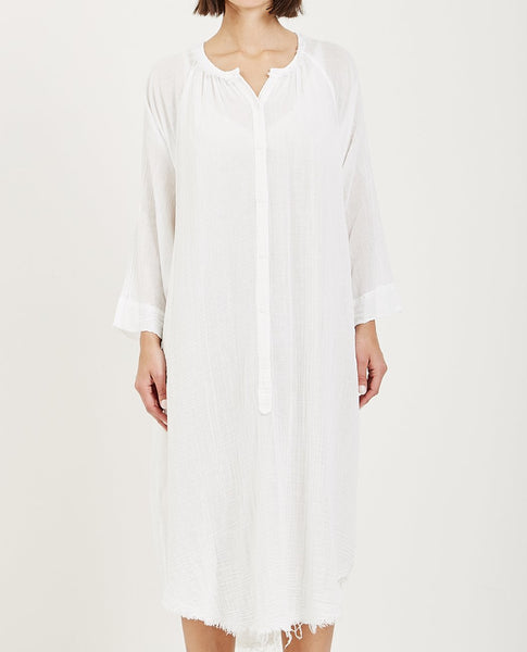 RAQUEL ALLEGRA GAUZE JONI POET DRESS