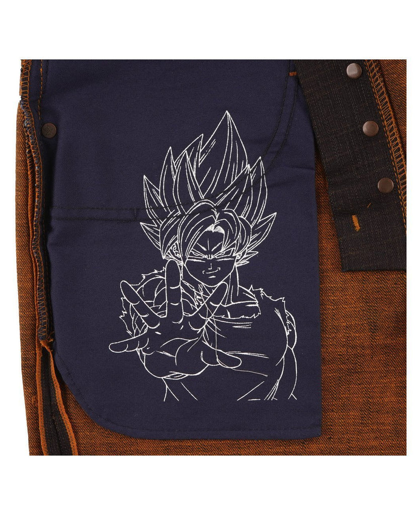 Goku Super Saiyan Selvedge Super Guy-NAKED & FAMOUS-American Rag Cie