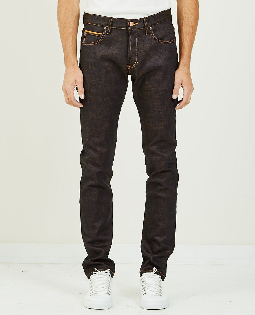 NAKED & FAMOUS-GOKU SUPER SAIYAN SELVEDGE SUPER GUY-Men Skinny-{option1]