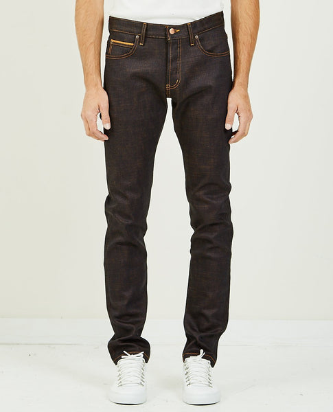 NAKED & FAMOUS GOKU SUPER SAIYAN SELVEDGE SUPER GUY