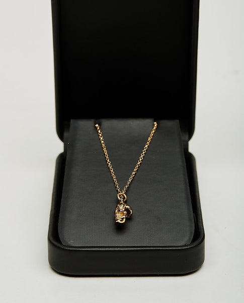 FOR THOSE WHO SIN GOLD CHARM NECKLACE