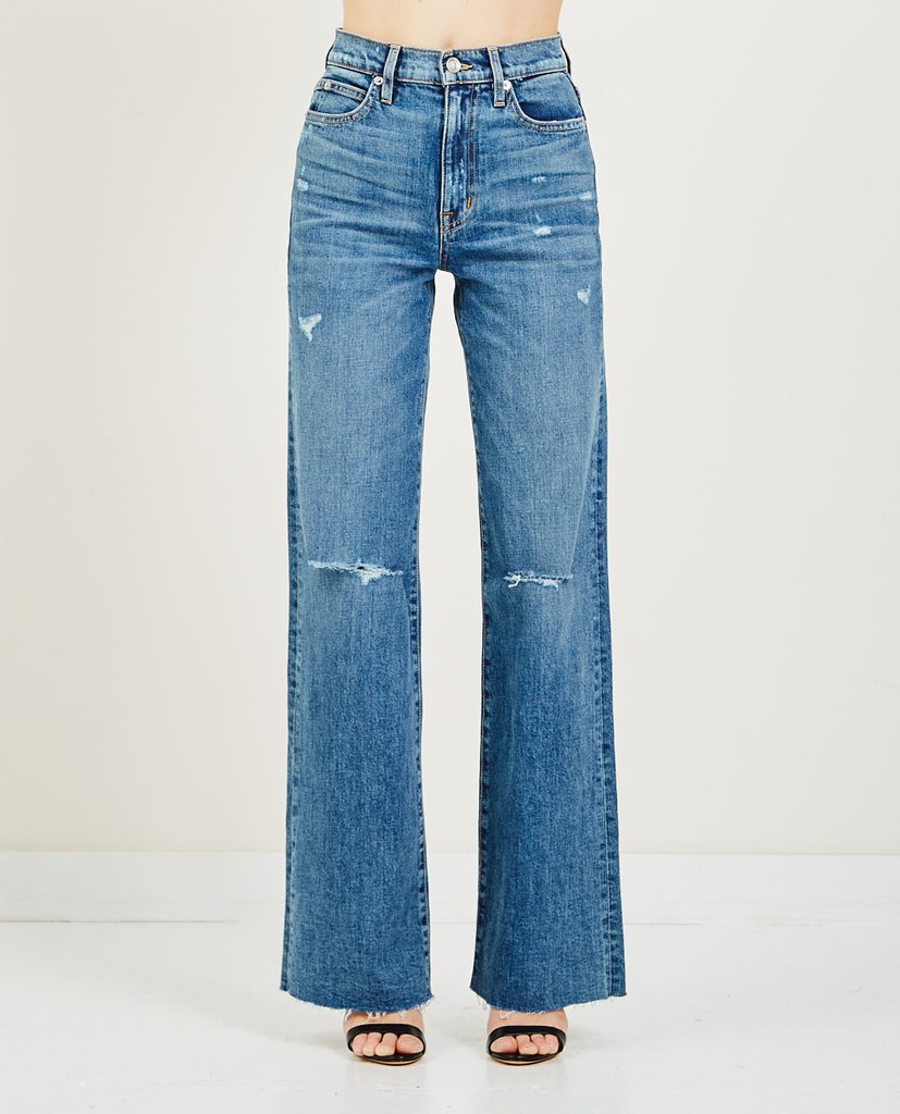 SLVRLAKE-GRACE WIDE LEG JEAN BIG SUR-Women Boyfriend-{option1]