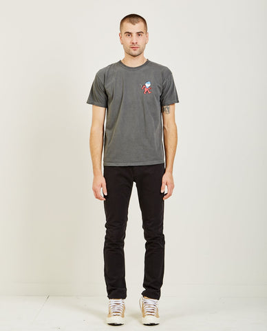 SATURDAYS NYC ESTABLISHED CHEST LOGO TEE
