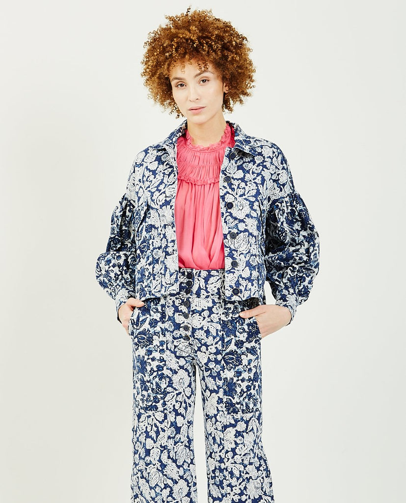 ULLA JOHNSON-Griffin Jacket-Women Coats + Jackets-{option1]