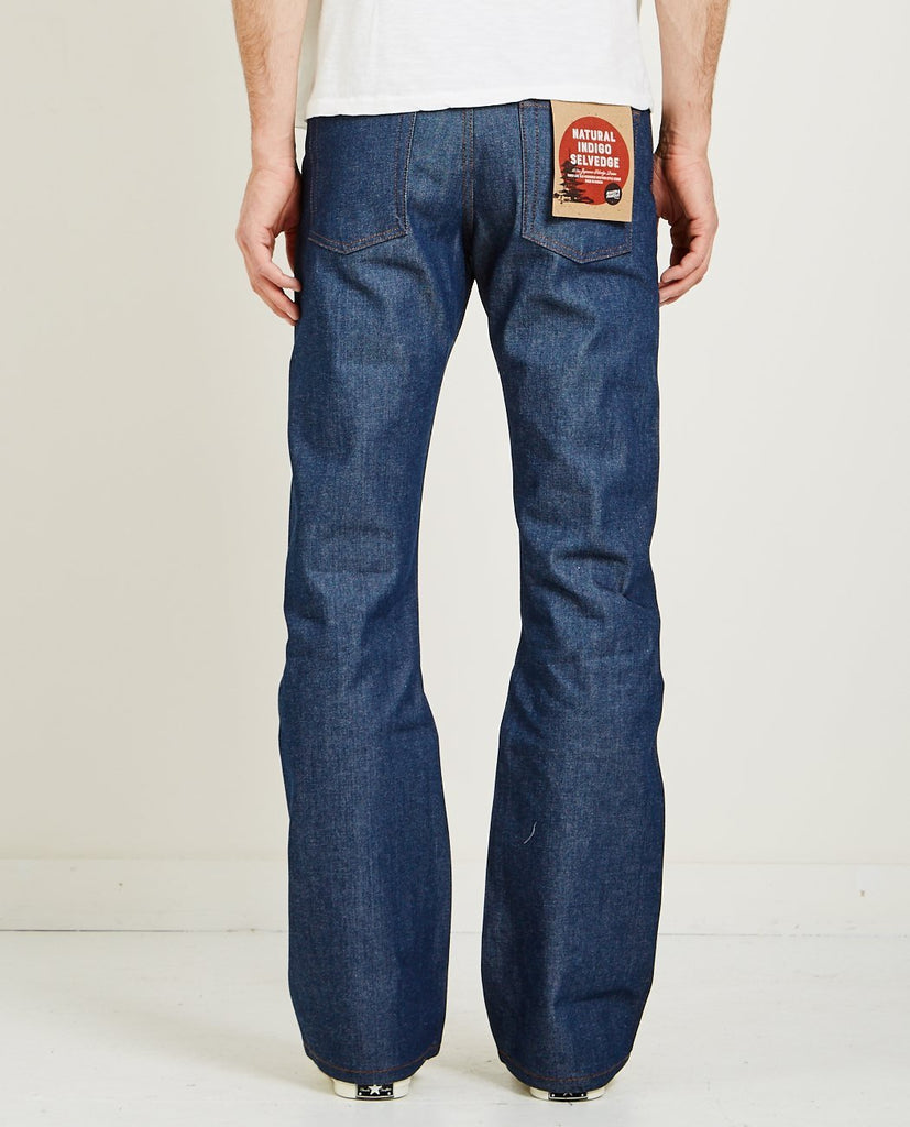 GROOVY GUY NATURAL INDIGO SELVEDGE-NAKED & FAMOUS-American Rag Cie