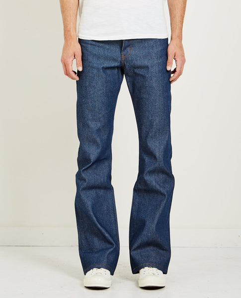 NAKED & FAMOUS GROOVY GUY NATURAL INDIGO SELVEDGE