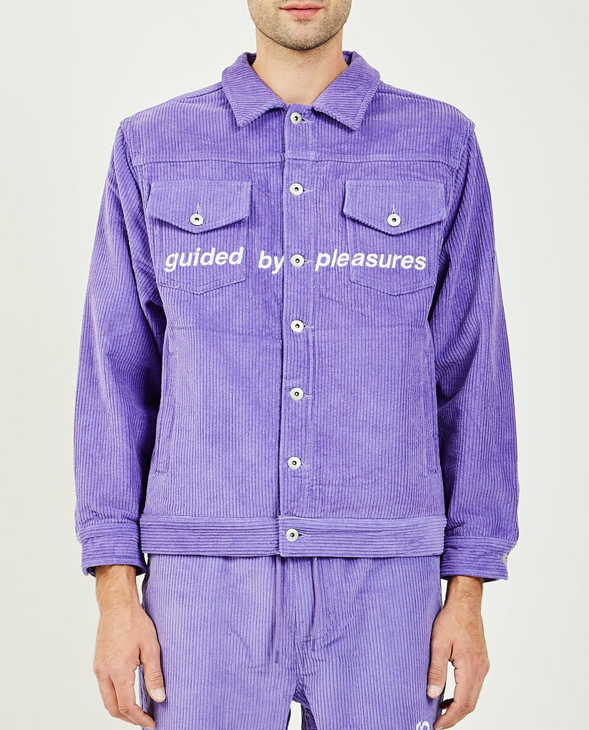 GUIDED BY PLEASURES CORDUROY TRUCKER JACKET-PLEASURES-American Rag Cie
