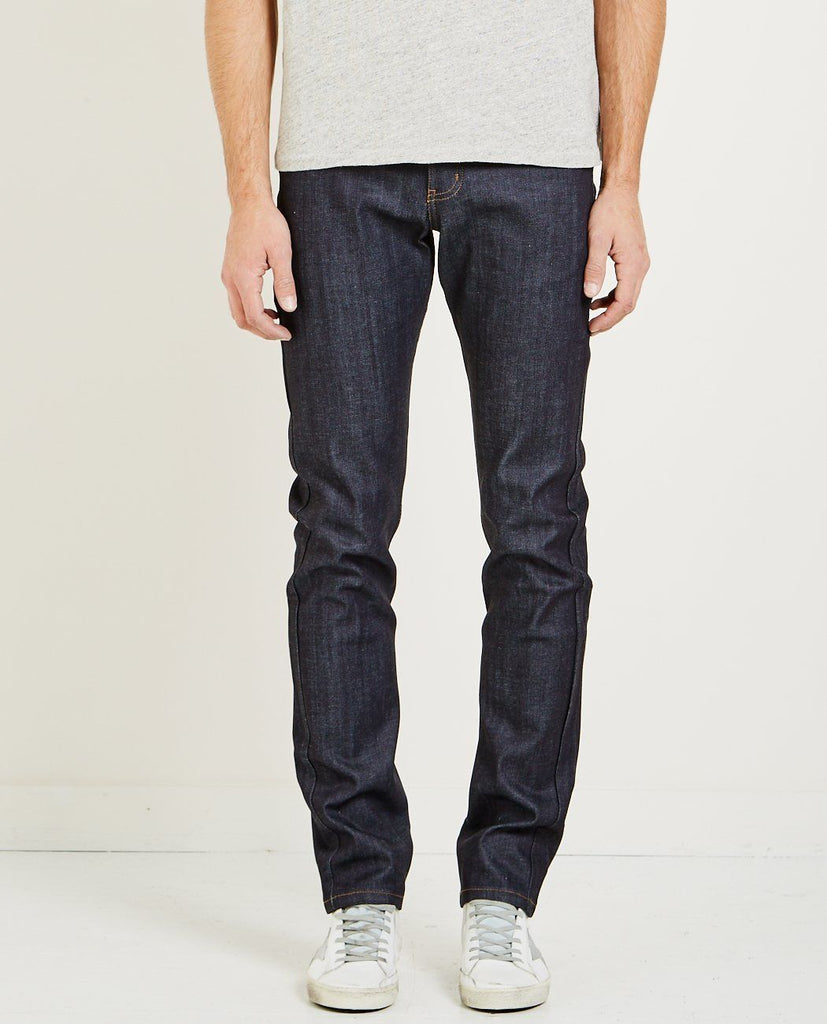 NAKED & FAMOUS GUILE SONIC BOOM SELVEDGE WEIRD GUY