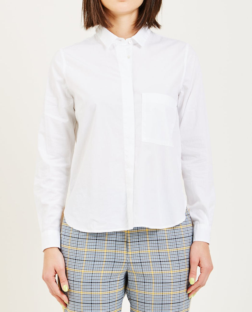 CLOSED-HAILEY SHIRT WHITE-Blouses-{option1]