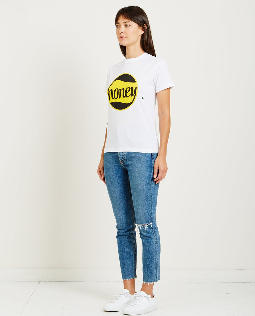 GANNI-HARWAY HONEY TEE-Women Tees + Tanks-{option1]