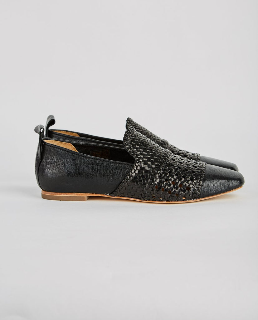 HAZEL CALF WOVEN LOAFER-H BY HUDSON-American Rag Cie