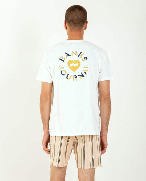 BANKS JOURNAL Heart Circle Tee