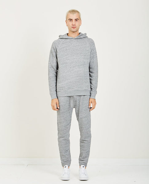 ALEX MILL HEATHER FRENCH TERRY HOODIE