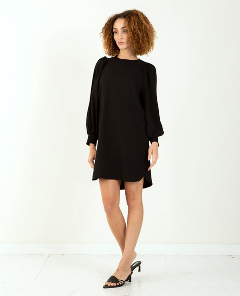 GANNI Heavy Crepe Dress