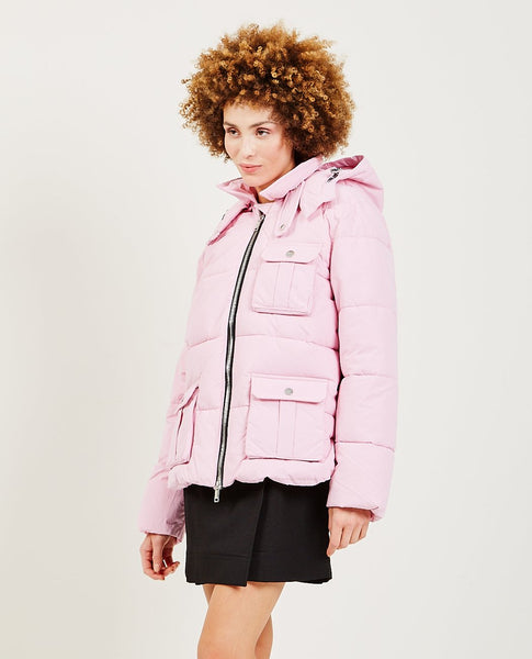 GANNI Heavy Tech Puffer Jacket