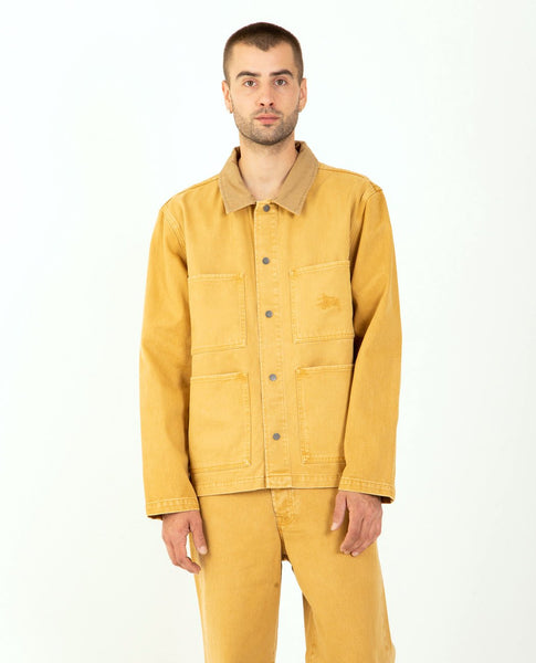 STUSSY Heavy Wash Chore Jacket