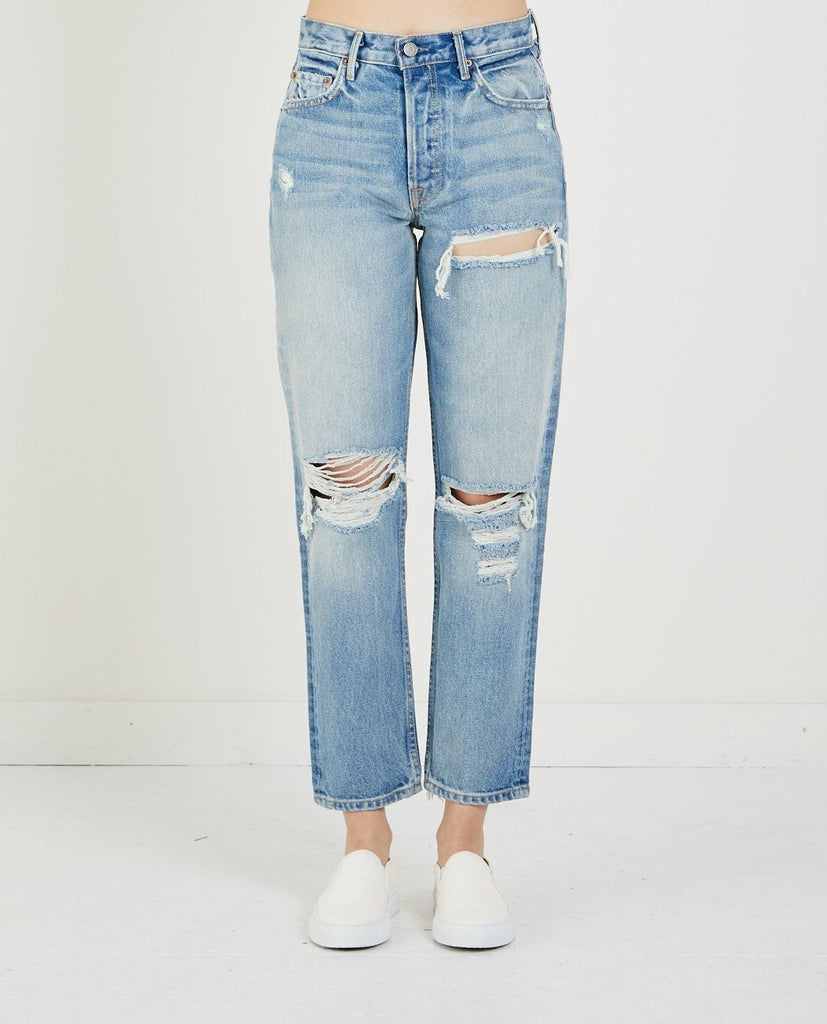GRLFRND HELENA HIGH-RISE STRAIGHT CROP JESSIE