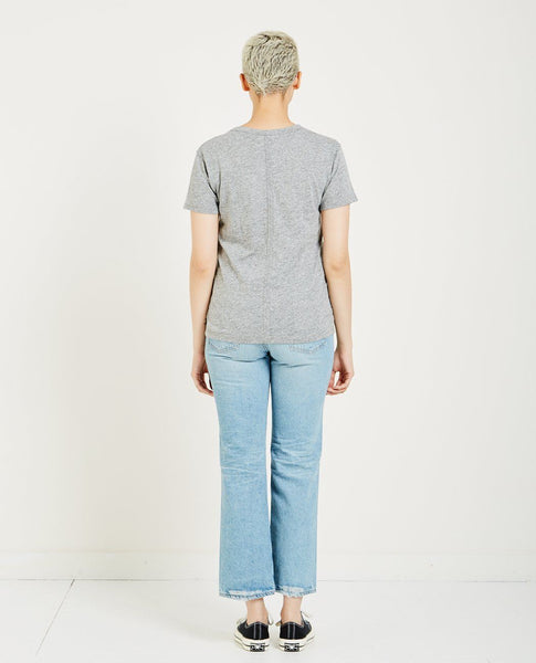 AG JEANS HENSON TEE - SPECKLED HTH GREY