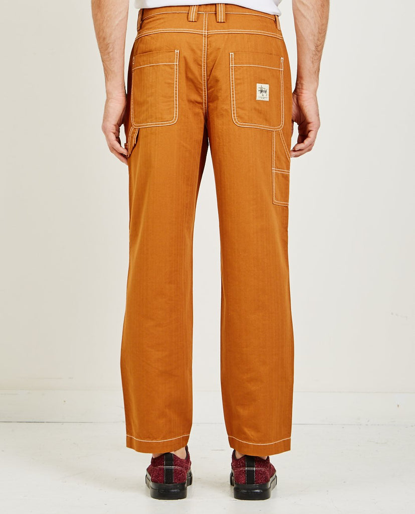 STUSSY-HERRINGBONE WORK PANT-Men Pants-{option1]