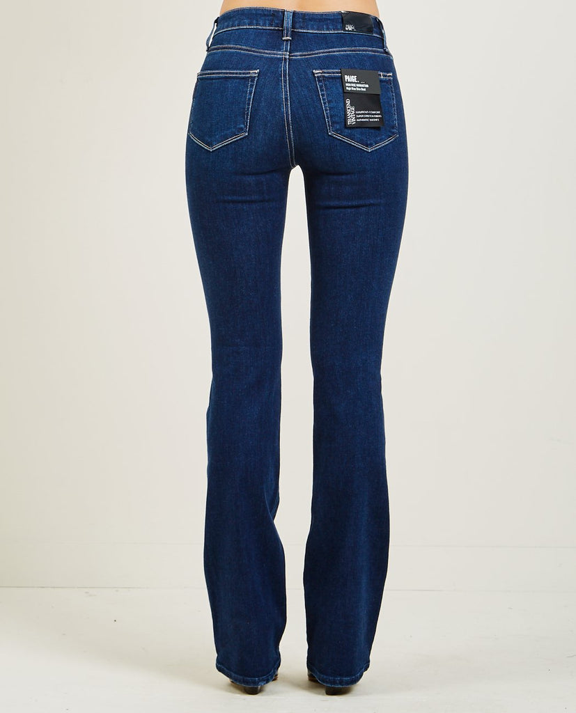 HIGH RISE MANHATTAN BOOT JEANS-PAIGE-American Rag Cie