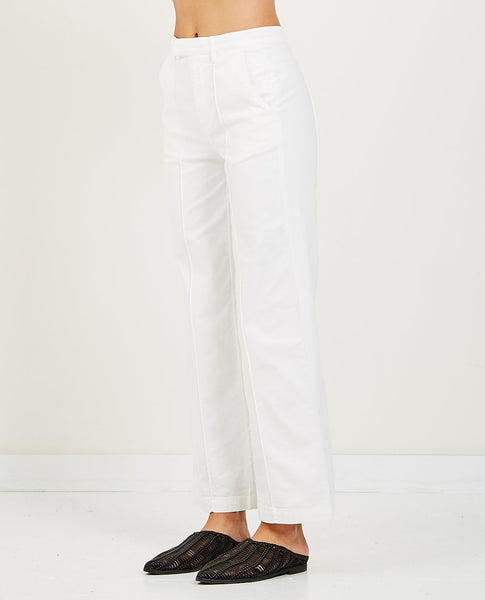ALEX MILL HIGH-RISE TWILL TROUSER