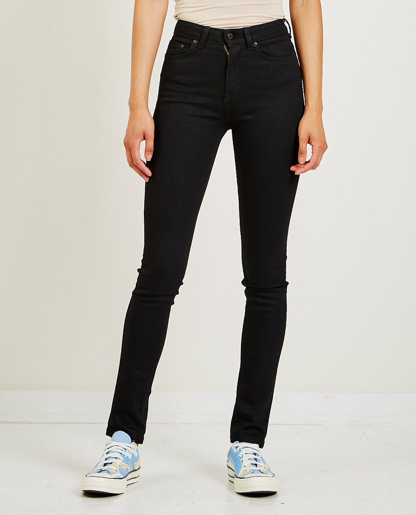 High Skinny Jean Black Power Stretch-NAKED & FAMOUS-American Rag Cie