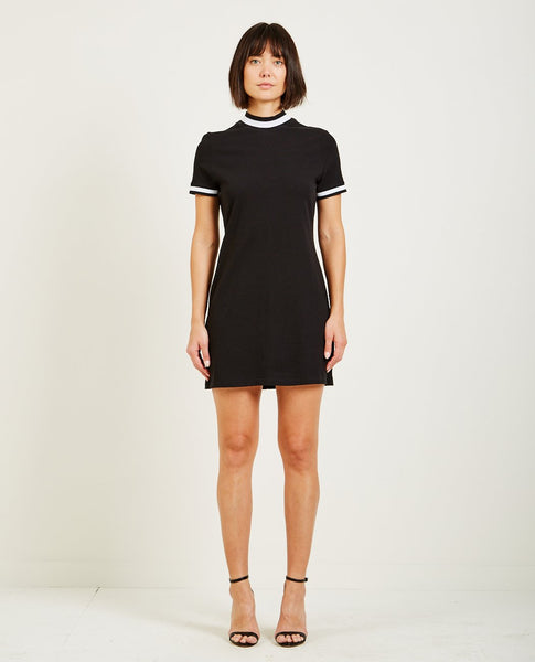 T BY ALEXANDER WANG HIGH TWIST JERSEY DRESS