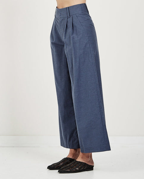 MUSED HIGH WAIST WIDE PANTS