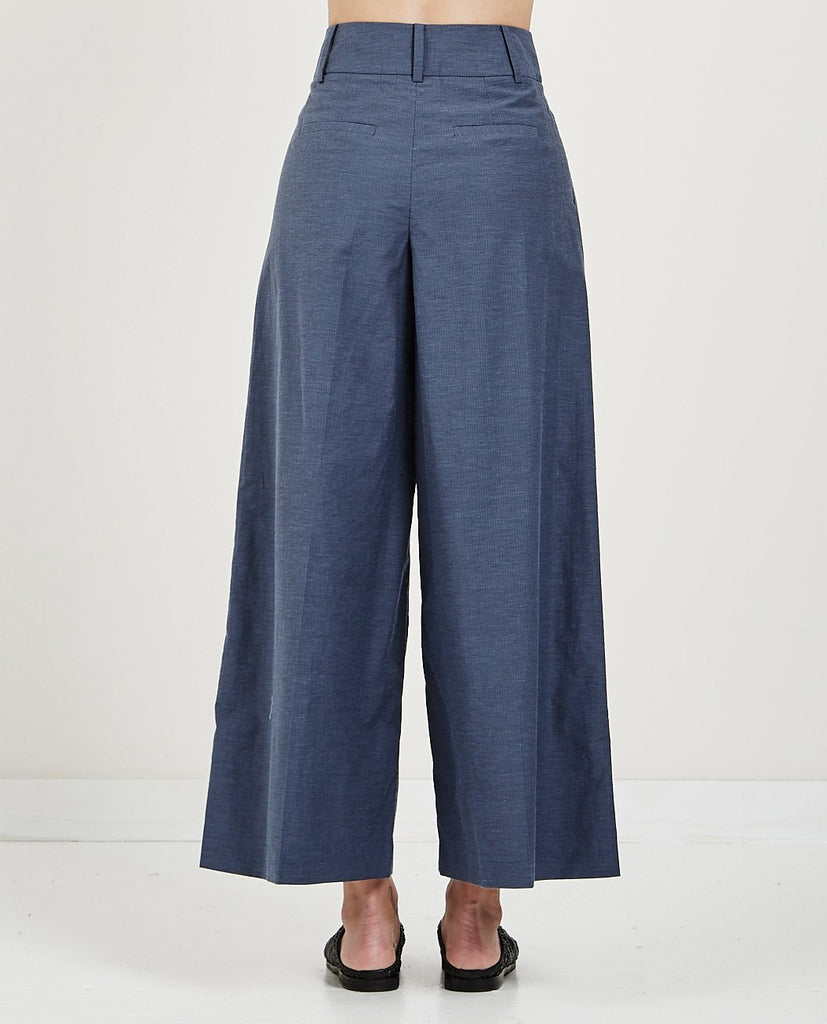 MUSED-HIGH WAIST WIDE PANTS-Women Pants-{option1]