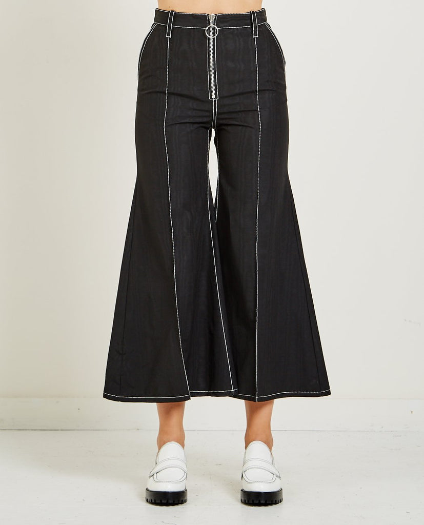 MARQUES ALMEIDA-HIGH WAISTED FLARES-Women Pants-{option1]