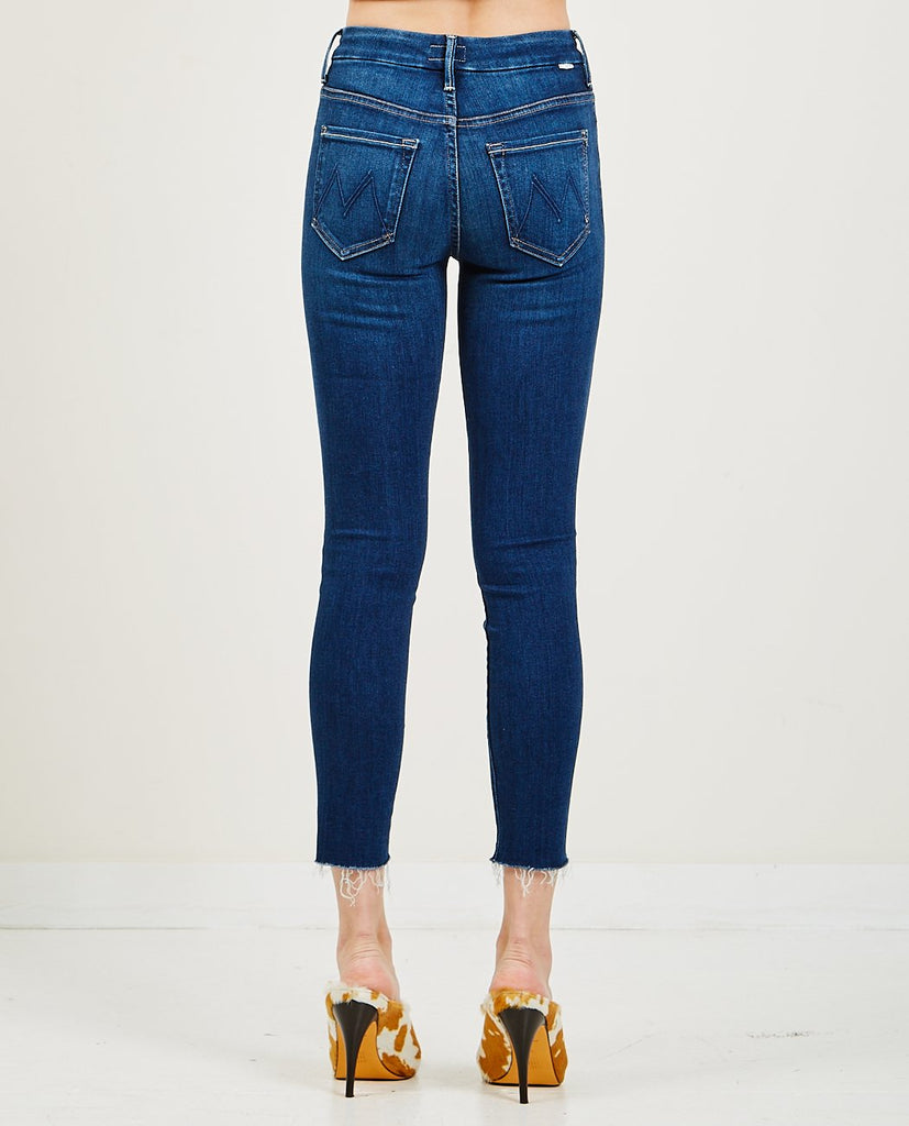 High Waisted Looker Ankle Fray-MOTHER-American Rag Cie
