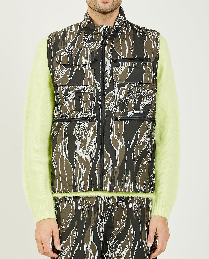 STUSSY-HIGHLAND VEST-Men Coats + Jackets-{option1]