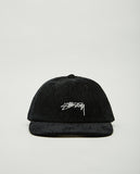 STUSSY-HO19 CORD LOW PRO CAP-Men Hats-{option1]