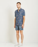 BARNEY COOLS-HOLIDAY SHIRT SEA LIFE NAVY-Men Shirts-{option1]