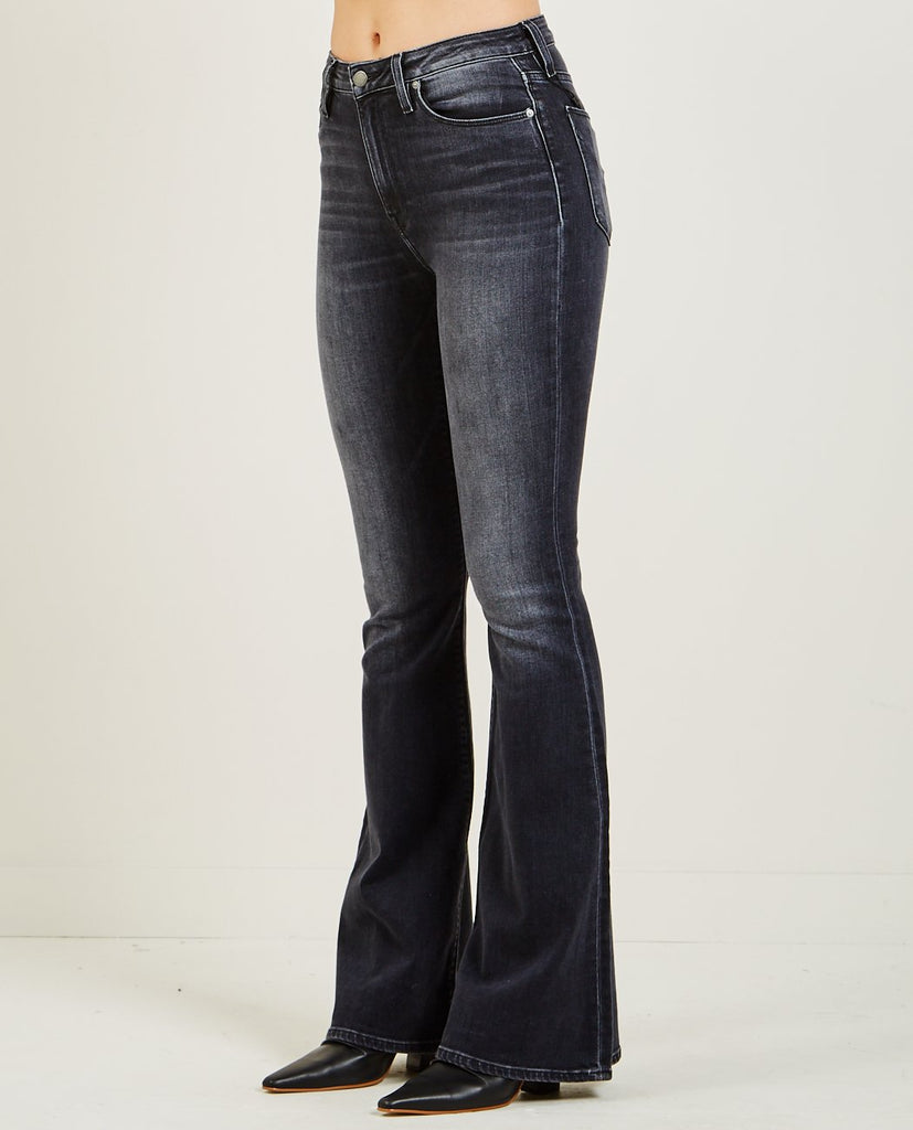 HOLLY HIGH RISE FLARE JEANS KONA-HUDSON-American Rag Cie