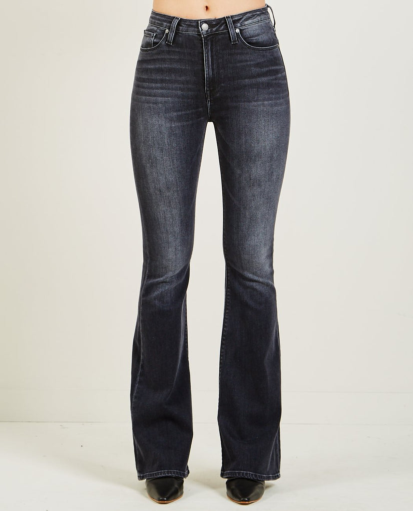 HUDSON-HOLLY HIGH RISE FLARE JEANS KONA-Women Bootcut-{option1]